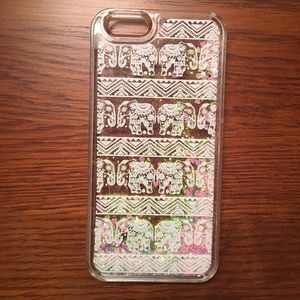 Accessories - Aztec/Elephant Moving Glitter iPhone 6/6s case